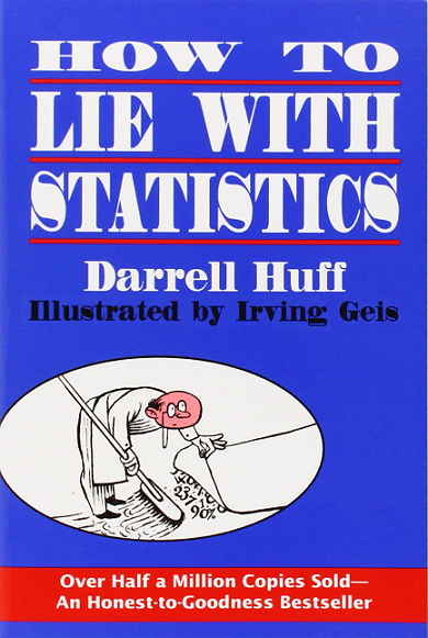How to Lie with Statistics (by Darrell Huff)