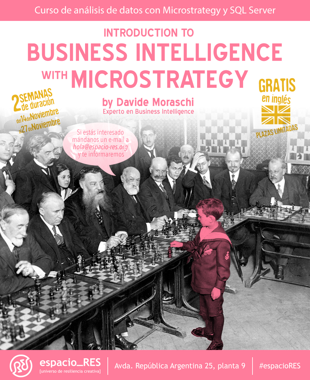 Free MicroStrategy training in Seville (students and unemployed only)